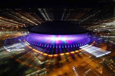 The Mercedes-Benz Superdome (originally Louisiana Superdome and commonly The…