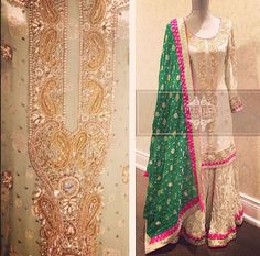 Colors & Crafts Boutique™ offers unique apparel and jewelry to women who value versatility, style and comfort. For inquiries: Call/Text/Whatsapp Pakistani Wedding Outfits, Pakistani Dresses, Indian Dresses, Indian Outfits, Pakistani Couture, Pakistani Bridal, Gharara Designs, Bridal Mehndi Dresses, Pakistan Wedding