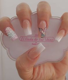 Leave everything in my hands and let yourself be wrapped with our magic only here for appointments at 📲 Go ahead 💅💓😍 # elhadadetusuñas nails # nailsmedellin nails nails nails nails nails nails nails nails # Dream Nails, Love Nails, My Nails, Perfect Nails, Gorgeous Nails, Pretty Nails, Diy Acrylic Nails, Summer Acrylic Nails, Mermaid Nails
