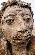Mixed Media Sculpture, Sculpture Art, Ousmane Sow, Senegal Travel, Greek Art, Land Art, African Art, Les Oeuvres, Ceramics