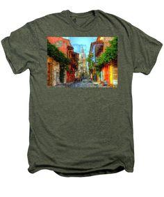 Men's Premium T-Shirt - Heroic City, Cartagena De Indias Colombia