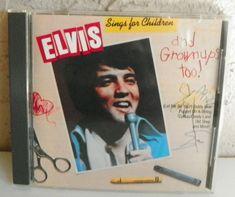 ELVIS PRESLEY CD ELVIS SINGS FOR CHILDREN & GROWNUPS TOO RCA CAD1-2704 CANADA #RocknRoll