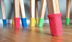 I live in a beautiful apartment with beautiful wooden floors. But the dining table chairs screeching across the floors were causing me grief, so I made them these chair socks! They started out as a purely practical project, with the hope that it would add a bit of colour to the room too. If you …