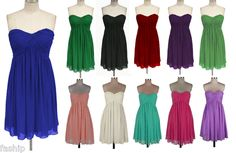 Simple but cute for bridesmaid dresses. :)