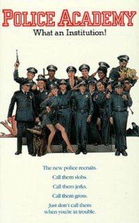 POLICE ACADEMY: Directed by Hugh Wilson. With Steve Guttenberg, G. A group of good-hearted but incompetent misfits enter the police academy, but the instructors there are not going to put up with their pranks. Childhood Movies, 80s Movies, Comedy Movies, Great Movies, Film Movie, 1984 Movie, Famous Movies, Movies Worth Watching, Movie Collection