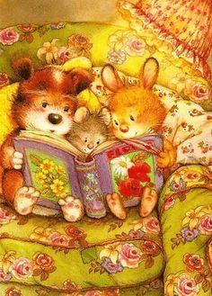 Милые детские иллюстрации : (7 фото)