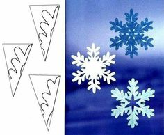 How to paper snowflakes part 46 beautiest patterns for cutting out Christmas snowflakes — save and share with friendsImage gallery – Page 384635624400052897 – Artofit Paper Snowflake Template, Paper Snowflake Patterns, Snowflake Craft, Christmas Snowflakes, Christmas Ornaments, Snowflakes Diy Paper, Cut Out Snowflakes, Snowflake Cutouts, Frozen Snowflake