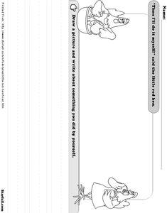 Online Printouts: Little Red Hen
