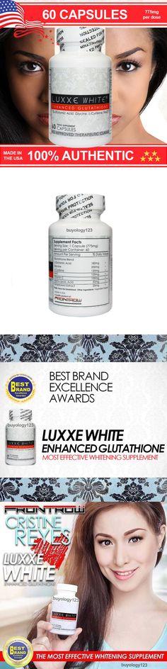 Lightening Cream: 60 Luxxe White Enhanced Glutathione Skin Whitening Lightening Capsules Pills -> BUY IT NOW ONLY: $54.95 on eBay!