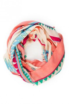 LOVE THIS! Imala Tribal Print Scarf from shopsosie.com