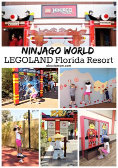 LEGO NINJAGO World at the LEGOLAND Florida Resort is fun for the whole family, complete with LEGO NINJAGO The Ride and lots of fun interactive experiences for kids. #BecomeTheNinja #LEGOLANDFlorida AD