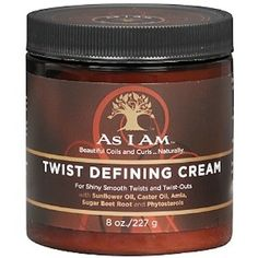As I Am Twist Defining Cream to beat humidity