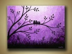 butterfly canvas painting ideas - Google Search
