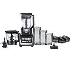 Nutri Ninja BL682UK Complete Kitchen System – Black & Grey