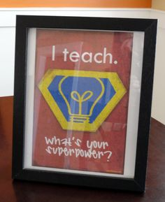 Holy Craft: Teacher appreciation gifts. Would love to get this one day since I plan on becoming a teacher