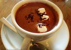 Hot Chocolate With Crunchy Magic Balls  | The Chocolate Room | Pune