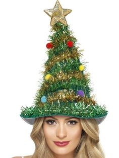 Smiffys Christmas Tree Hat with Star Tinsel and Baubles Smiffy's http://www.amazon.co.uk/dp/B00E3SM3SW/ref=cm_sw_r_pi_dp_Sb8mub1742R68