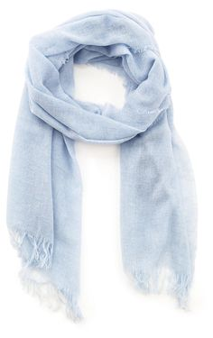 Cashmere Featherweight Wrap, Blue | In the Spotlight | One Kings Lane