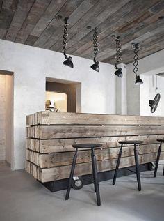 "Possible desk base idea danish restaurant | ""Höst"" | copenhagen | by norm architects."