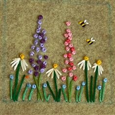 Wonderful Ribbon Embroidery Flowers by Hand Ideas. Enchanting Ribbon Embroidery Flowers by Hand Ideas. French Knot Embroidery, Crewel Embroidery Kits, Embroidery Flowers Pattern, Silk Ribbon Embroidery, Hand Embroidery Designs, Embroidery Thread, Embroidered Flowers, Machine Embroidery, Embroidery Tattoo