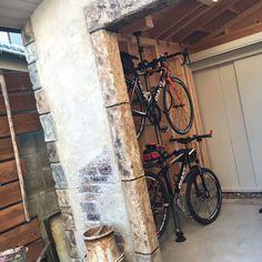 モルタル造形/デザインコンクリート/自転車小屋/部屋全体のインテリア実例 - 2016-02-13 18:10:27   RoomClip(ルームクリップ)