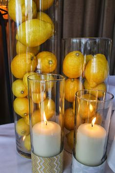 Table Decoration Ideas For Retirement Party party decorations for retirementjpg 640480 Retirement Party Decorations Cylinders Filler With Loemons Others Wrapped With Paper And Filled With