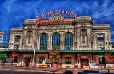Union Station Train Portal, Downtown Denver.