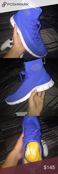 *Tried on* Nike free run mercuial flyknit These shoes are really rare and we're hard to get on release. 10/10 condition basically brand new tried on and walked around in my house in them Nike Shoes Sneakers