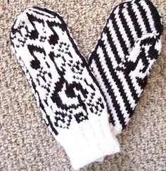 Pattern Page 2 - Loves Sweet Song Folk Mittens