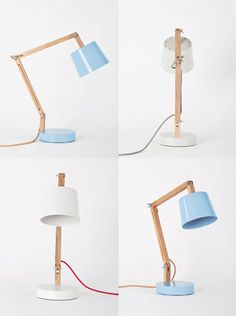 The simplicity of those lamps is beautiful