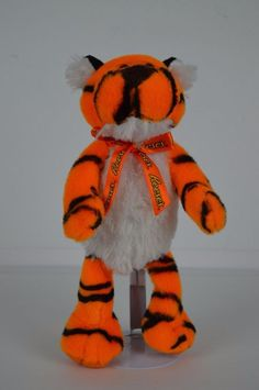 "Reese's Peanut Butter Cup 10"" Tiger Plush Stuffed Animal Electronic Singing  #Reeses"