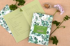 Oh So Beautiful Paper: DIY Tutorial: Seed Packet Wedding Ceremony Program