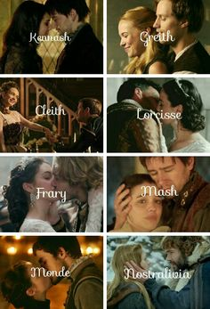 Reign couples #Kennash #greith #cleith #lorcisse #frary #mash #monde #nastralivia
