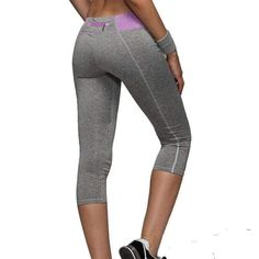1ad8d2397a672 Women Running Tights Sports Push-Up Elastic Sport Pants Women Sport Running  Pants Gym Crops