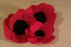 Poppy badges, love the pattern and hopefully won't lose this!