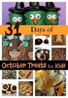 Moms Like Me: 31 Days of Yummy October Treats for Kids!