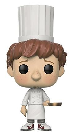 Funko POP Disney Ratatouille Linguini Action Figure From ratatouille, linguini, as a stylized pop vinyl from funko! Stylized collectable stands 3 ¾ inches tall, perfect for any ratatouille fan! Collect and display all ratatouille pop! Figurine Pop Disney, Pop Figurine, Disney Figurines, Funko Pop Dolls, Funko Toys, Toy Art, Art Harry Potter, Funk Pop, Disney Pop