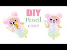 DIY Rilakkuma dango mochi pencil case tutorial