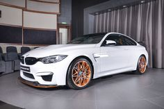 Check This BMW M4 GTS With A White Exterior And Orange Accents We consider this BMW M4 GTS seems a perfect option for everybody if you do not need the back seats. The model delivers 500 PS and 600 Nm (442 lb-ft) torque. The company has remodeled this M4 and made it quicker, more focused, and lighter. It has also got some exterior upgrades. BMW M4 GTS is...