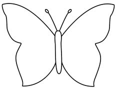 Large Butterfly Template - Bing Images