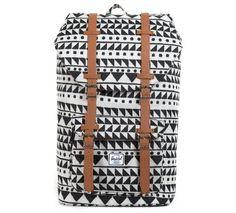 Herschel Rucksack Little America Backpack chevron black