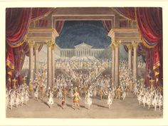 The Palace of Theseus, Act V Scene II 'A Midsummer Nights Dream' | Lloyds, F. 1856