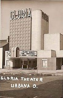 Gloria Theater Of course my first entry must be on the Gloria Theatre that was located in Urbana, Ohio. The building is now known as Urb. Urbana Ohio, Local History, Theater, Nostalgia, Sweet, Woodstock, Childhood Memories, Roots, Castle