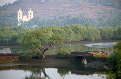 Beautiful Goa, India, settled by Portuguese seafarers in the 1500s.
