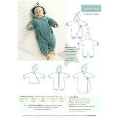 Patron de couture gigoteuse bebe Minikrea 10550
