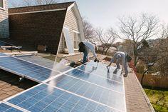 Healing the planet starts in your garage #renewableenergy