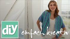 diy einfach kreativ sommerweste - YouTube
