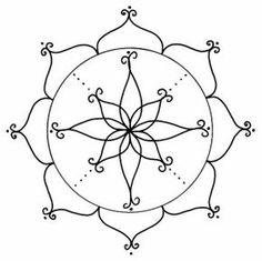 Visita la entrada para saber más Mandala Art, Mandala Design, Embroidery Art, Embroidery Patterns, Dremel Carving, Mosaic Garden Art, Pattern Coloring Pages, Dot Art Painting, Yoga