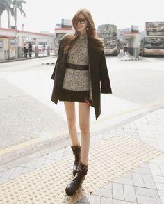 Crepe Boxy Jacket (black)   http://www.pinkymint.com/shop/step1.php?number=34157