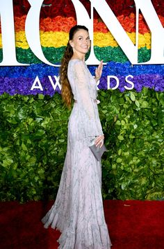 There were many more celebrities to join the likes of Lucy Liu and Ruth Wilson on the red carpet for the 2019 Tony Awards held at Radio City Music Hall on Celebrity Red Carpet, Celebrity Look, Celebrity Dresses, Celeb Style, The Cher Show, Samira Wiley, Sutton Foster, Laura Donnelly, Radio City Music Hall